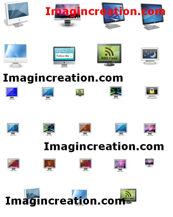 30+ Mac Desktop Monitor Icons Download